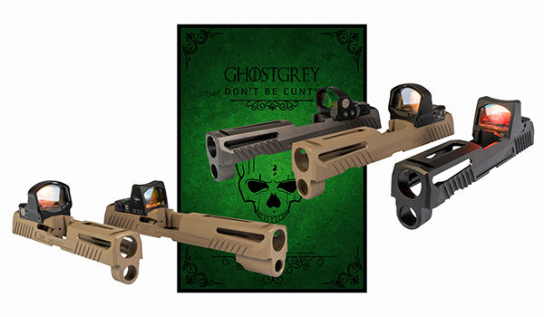 SIG P320 aftermarket slides from Grey Ghost Gear