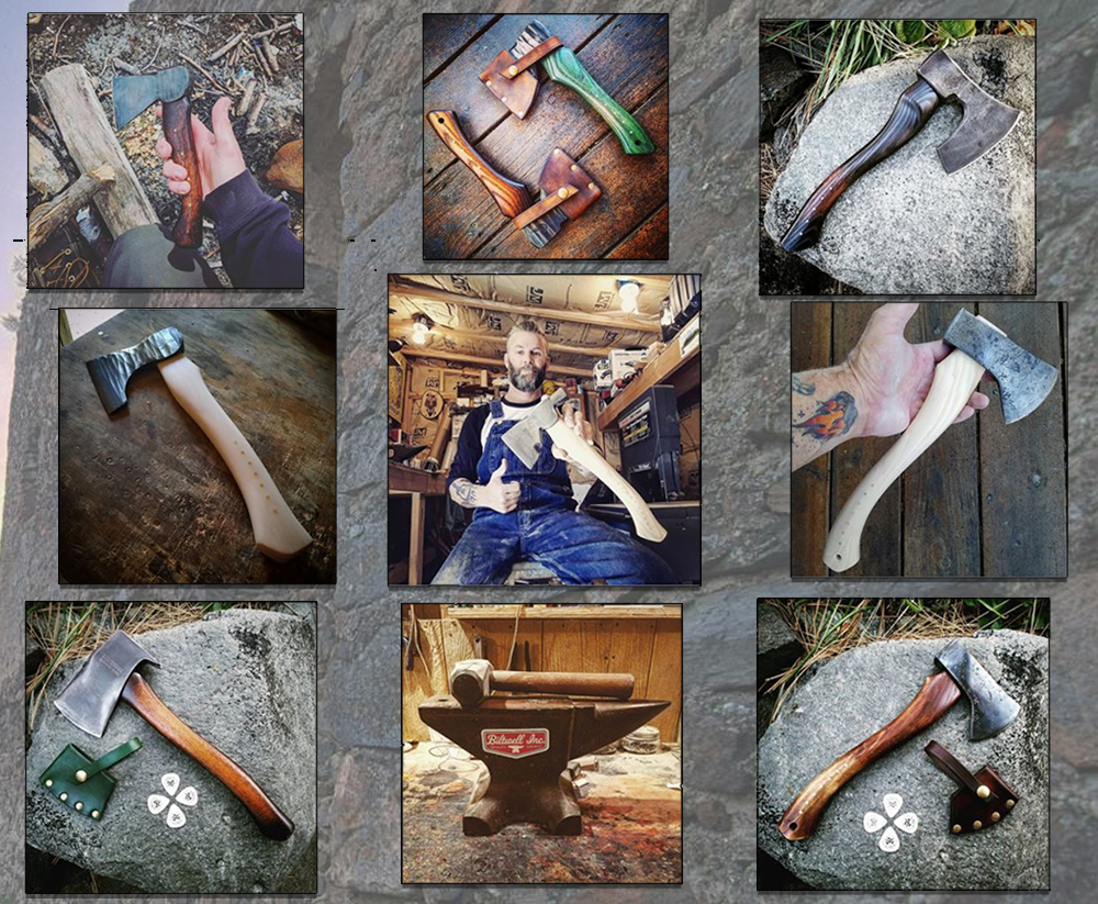 House Morningwood Presents | 9 Axes Handmade for Hewing