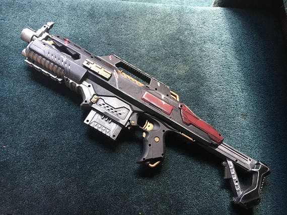 Custom Nerf Space Marine Rifle
