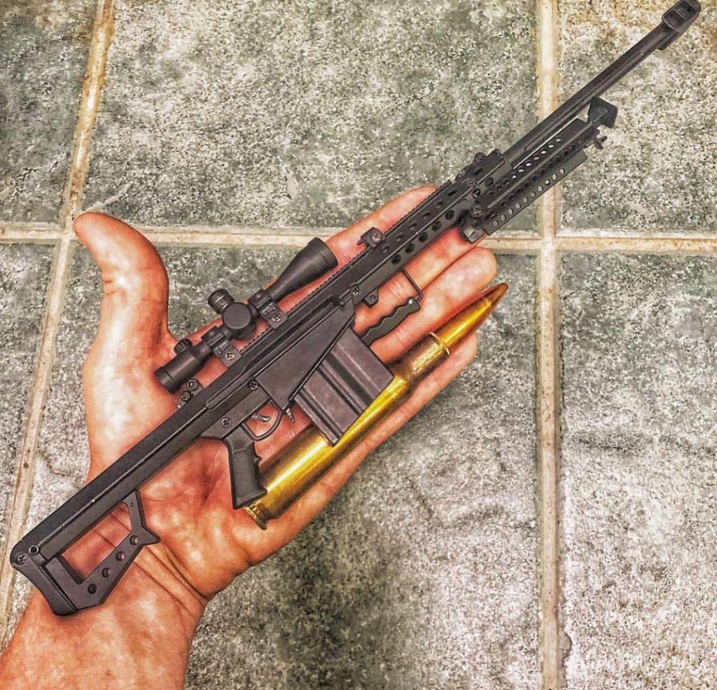 Goat Guns 50 cal replica miniature by @UniversityGunandPawn