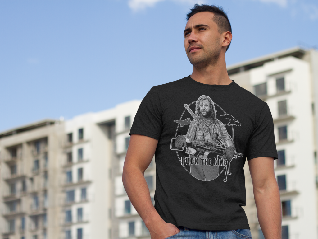 The Hound | Tactical Hound Fuck the King Shirt from MadDuoCo