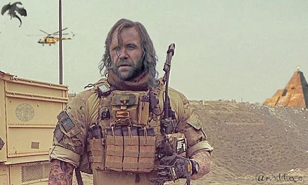 The Tactical Hound machine gun assaulter tee.