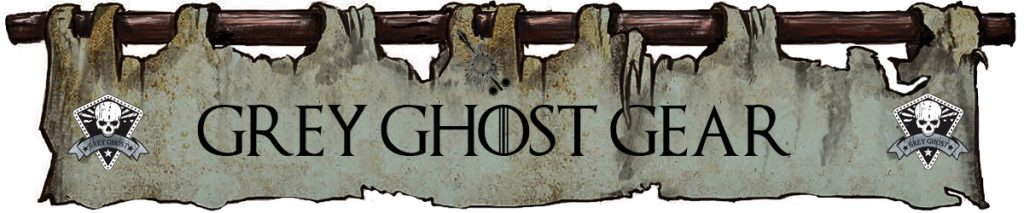 Gery Ghost Gear - Game of Thrones Banners style