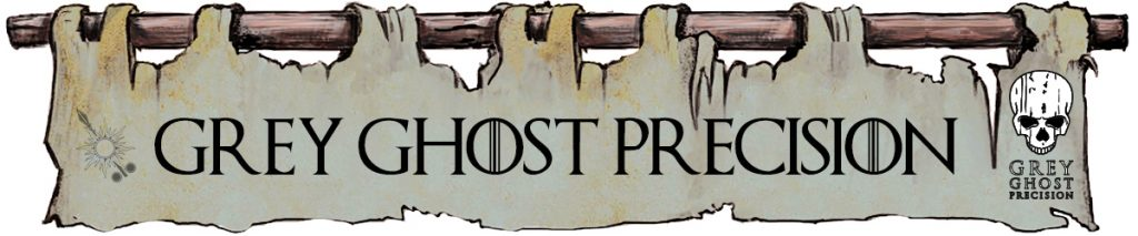 Grey Ghost Precision - Game of Thrones Banners style
