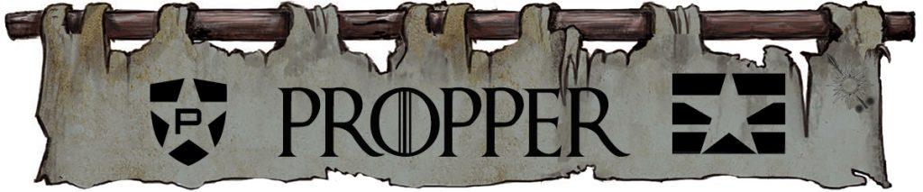 Propper - House Morningwood Game of Thrones banner