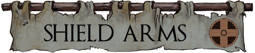 Shield Arms Banderole - House Morningwood