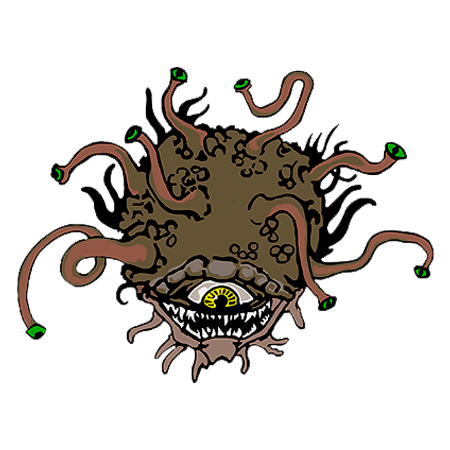 5e Beholder - a ridiculous distraction even by my standards