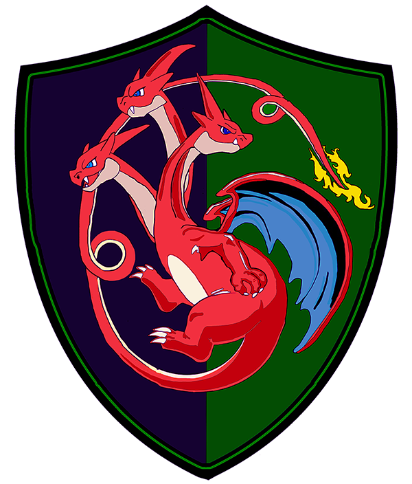 Game of Thrones House: House Morningwood style - this is the sigil of House Charmagaryen.