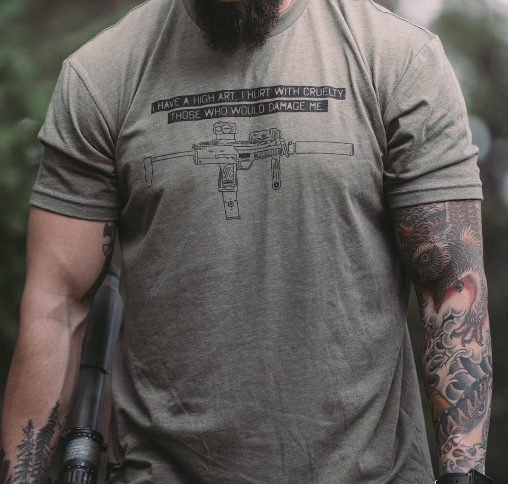 tactical shirts - archilochus cruelty