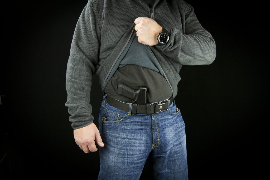 "AIWB holster with claw - the Raven Holsters ""Eidolon"""