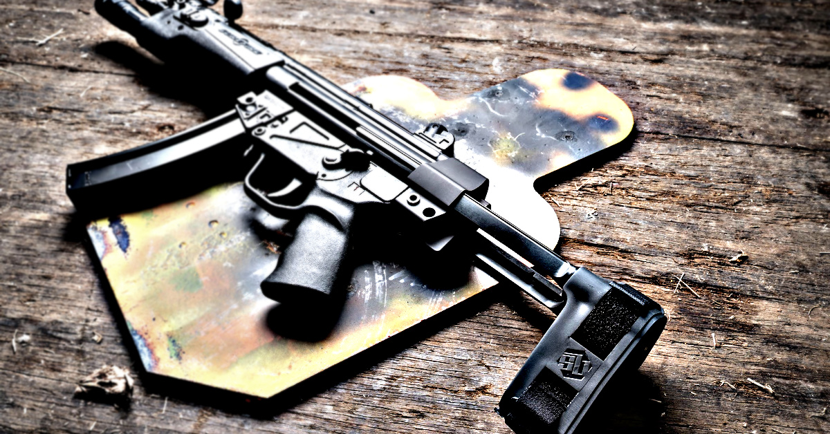 SB Tactical HKPDW AR Pistol Stabilizing Brace