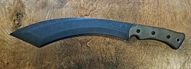The A-Klub from TOPS Knives - a heavy, working tool.