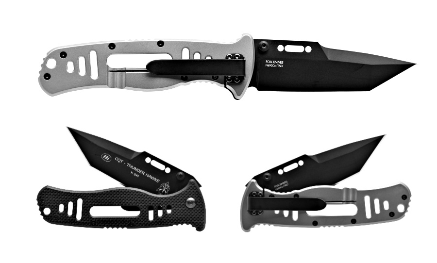 The TOPS Knives CQT Thunder Hawke Tanto – CQT-THK-01