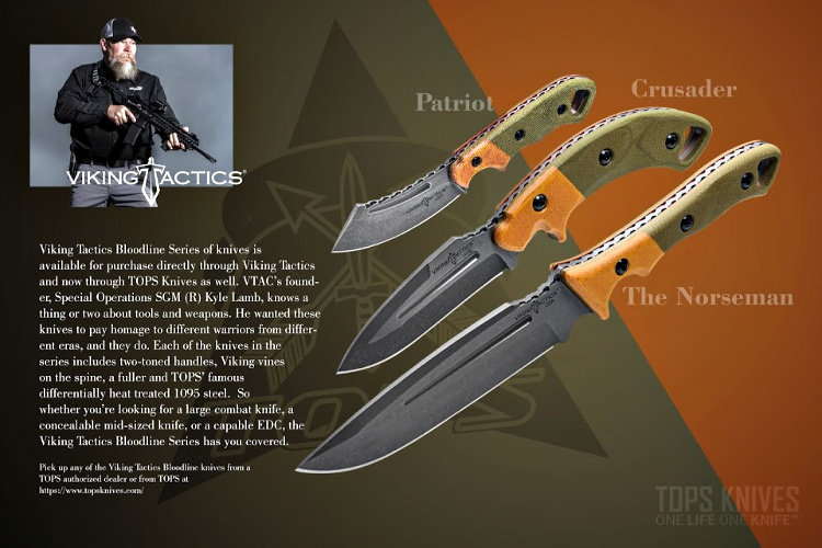 TOPS Knives - Viking Tactics - Bloodline Series