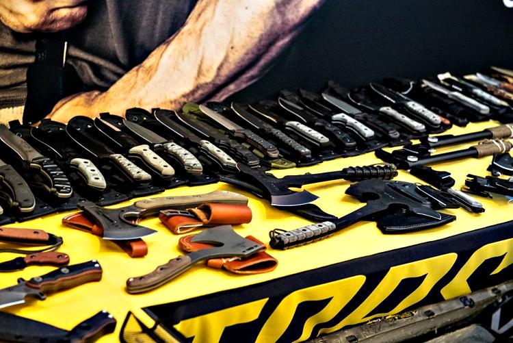 TOPS had many tactical models on display at SHOT Show 2019.