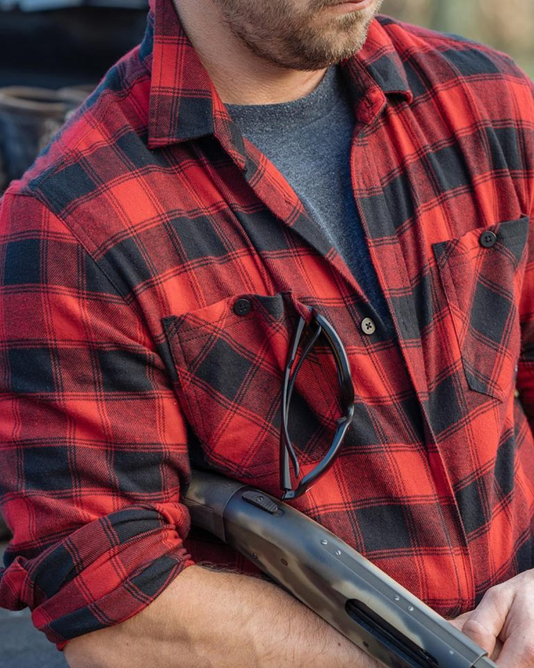 """Tactical Flannel"": it's a flannel tough and comfy enough to fight in."