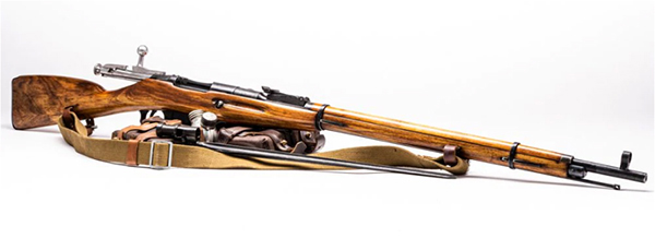 Mosin Nagant history from guns.com: photo by Richard Taylor