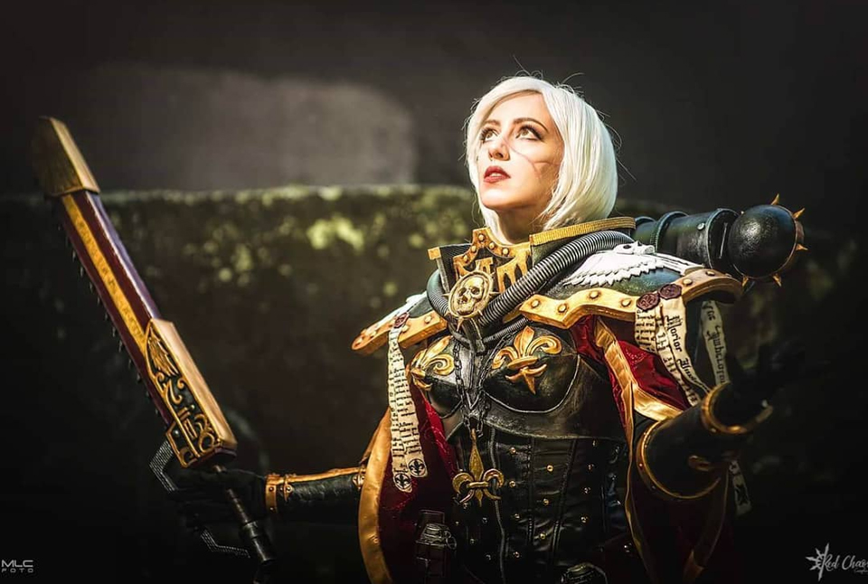 Sisters of Battle cosplay by Rudy Chaos.