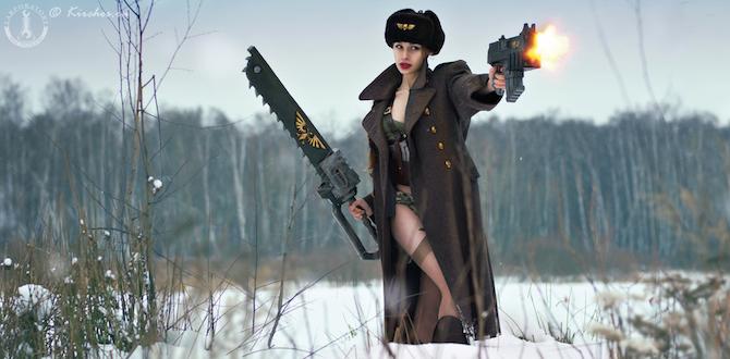 Sexy Warhammer 40K cosplay