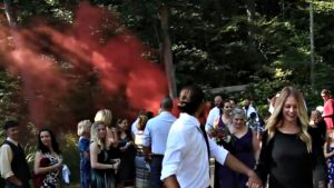 Enola Gaye Smoke Grenades are great for weddings.