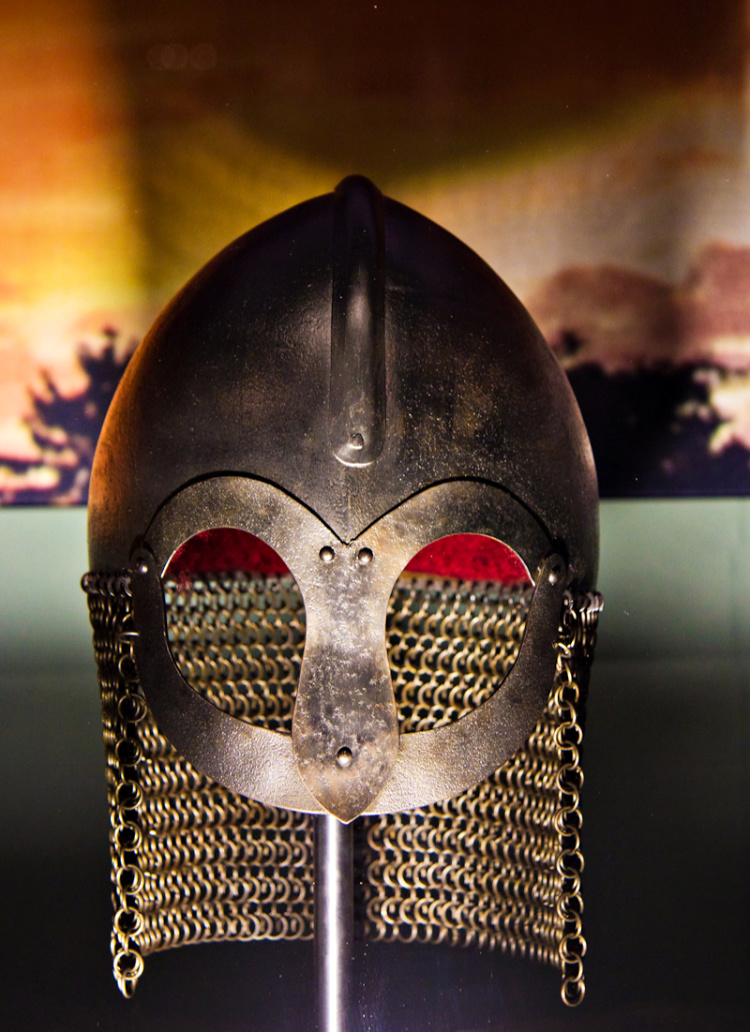 A viking helmet. Image swiped from http://www.edinburghspotlight.com