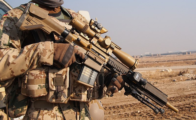 G28 battle rifle - Afghanistan.