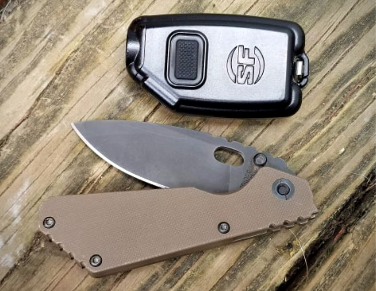 Two of my most used EDC items: the Sidekick and a Strider PT.