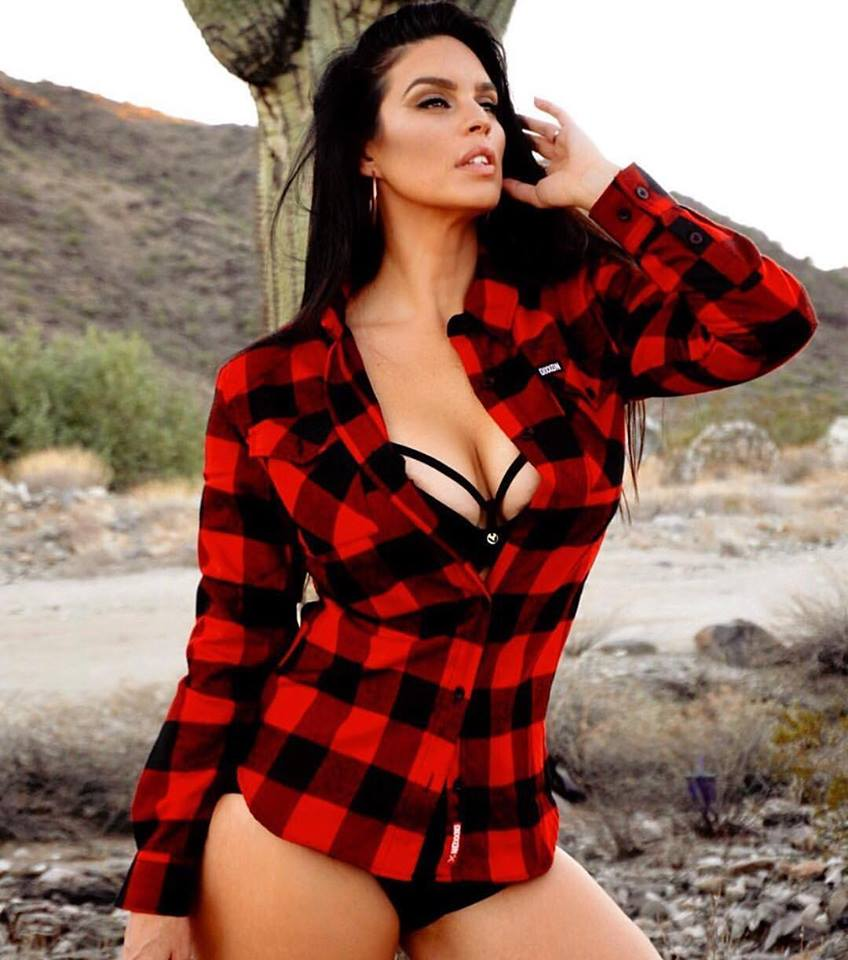 The classic red flannel shirt -- this one is from DIxxonFlannels
