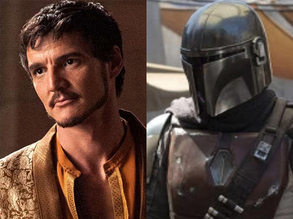 Din Djarin is played by Pedro Pascal, who also played Oberyn Martell.