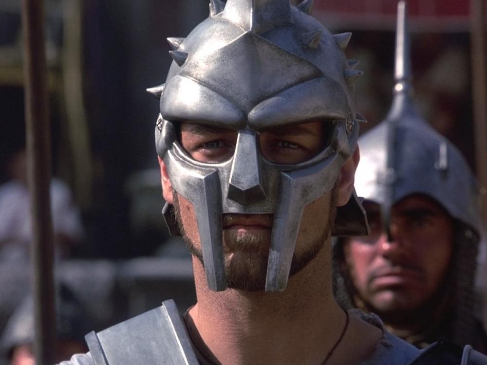 """""""Maximus"""" gladiator helmet"""