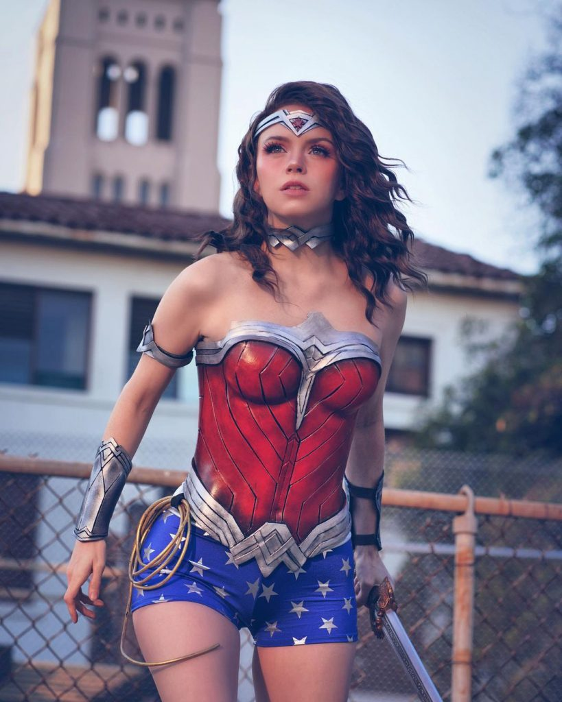 Wonder Woman cosplay by Armored Heart Cosplay by